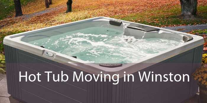 Hot Tub Moving in Winston