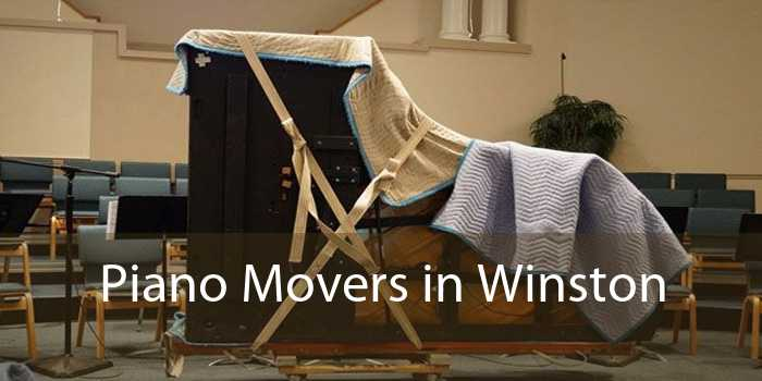 Piano Movers in Winston